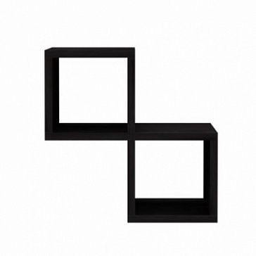 """Секция для наборного стеллажа Секция для наборного стеллажа с 2-мя нишами. Рекомендуется для комплектации стеллажей коллекции """"Cube"""""""