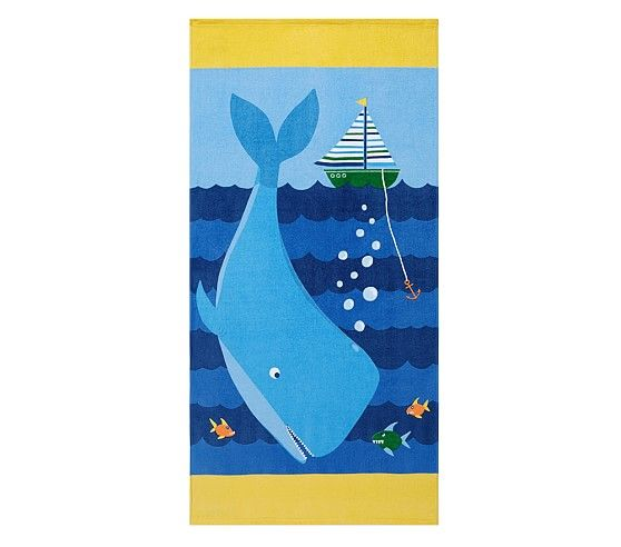 pottery barn kidsu0027 beach towel sale will warm up your kids the kids beach towel sale has towels with playful prints for stylish comfort at the beach - Beach Towels On Sale