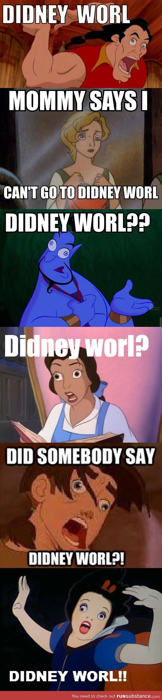 Didney worl <<< oh my word x)