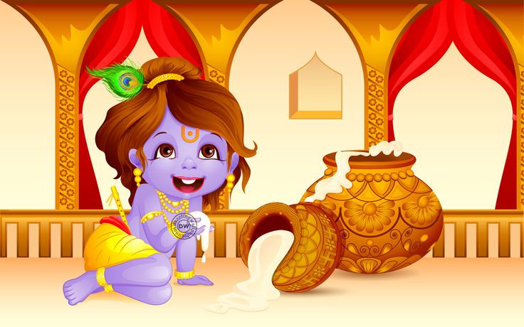 Happy Janmasthami Lord Krishna HD Wallpaper   Happy Janmashtami, Lord Krishna, 2014, HD, Wallpapers, Cute Lord Krishna, Pictures, Images, Dahi Handi, 1080p, Free, Download