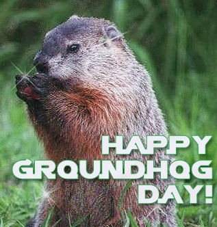 It's Groundhog Day again!