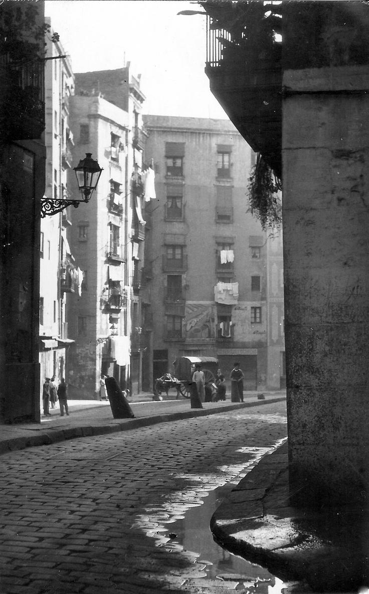Barcelona, Balses de Sant Pere 1950 y...