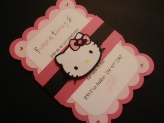 Invites Hello Kitty Birthday Invitations Hello Kitty Invitations Hello Kitty Party