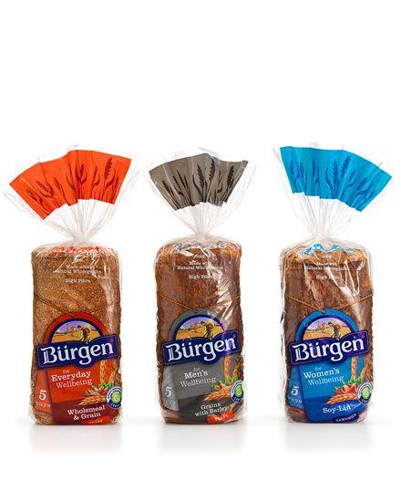 Burgen || Shout Design || Packaging designers. Auckland, New Zealand