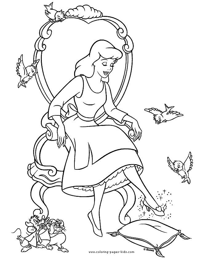 Pin By Delicada Art On Coloring Pages Cartoon Coloring Pages Disney Coloring Pages Cinderella Coloring Pages