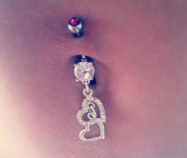 Cute belly button ring! im so getting this! <3