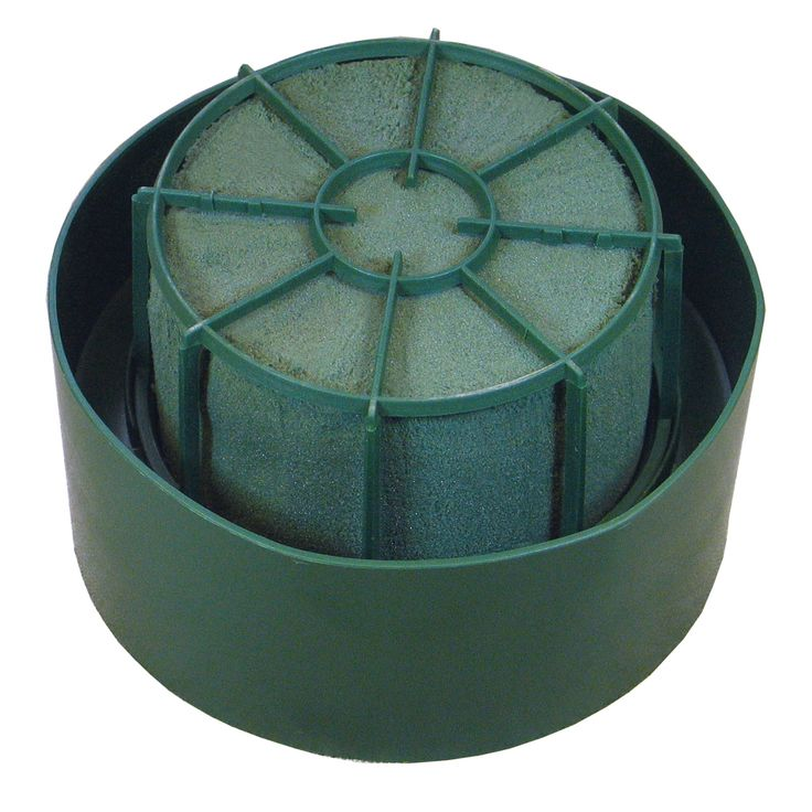 cylinder on the plastic base