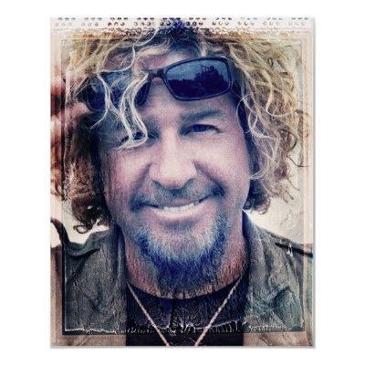 Sammy Hagar - Chickenfoot Poster from http://www.zazzle.com/sammy+hagar+posters