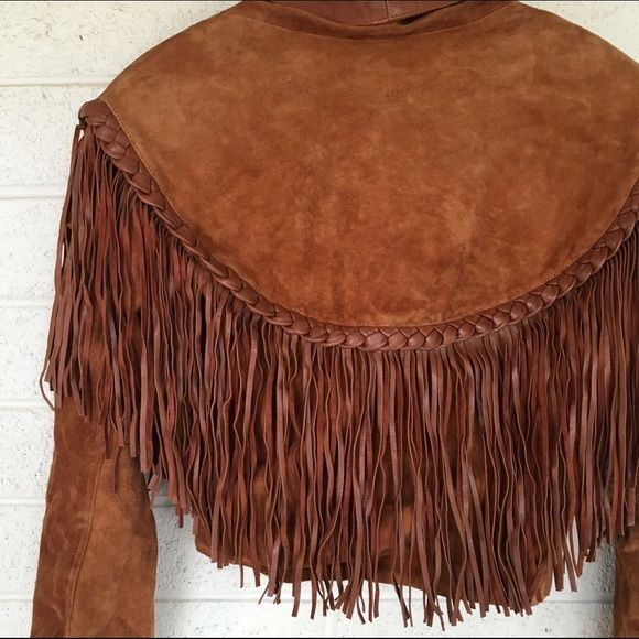 Vintage leather fringe oversized jacket Ugh. This jacket is to die! Perfect Coachella vibe! No trades. Open to offers Vintage Jackets & Coats