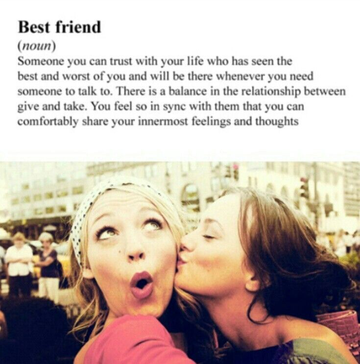 Best Friends cute photo idea and quote