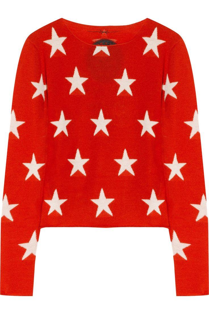 Banjo & Matilda|Star-intarsia cashmere sweater|NET-A-PORTER.COM