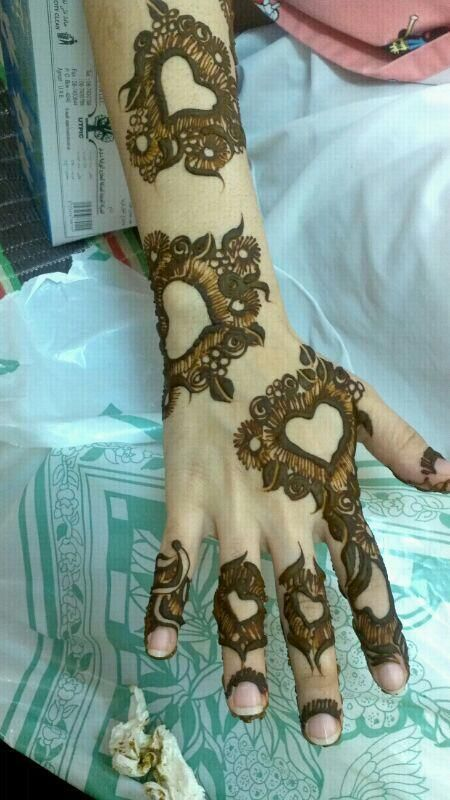 #mehendi #henna #art #lovely #unique #design #lovely