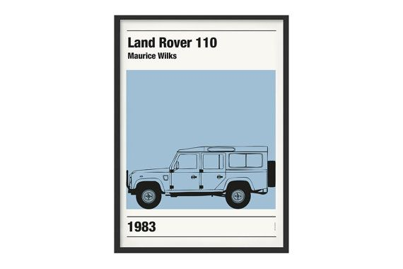 The original graphic Land Rover Defender theme.  Print is tipographic high quality on patinated paper of 200 gr.  All posters can be inserted in standard frames, Ikea models included.  Graphic are totally realised from Ultramobile Official making the poster unique. All prints can be personalised, please contact us for info and costs.  Frame is not included in the price of the article. Each poster is shipped in a hard pipe.  Colors of the poster may be a little different from the photos.