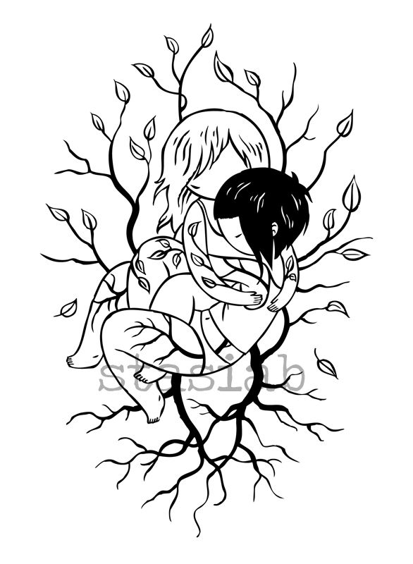 Design 10 Comments Girls With Roots A Special Tattoo Design. Drawing DesignsTattoo  DesignsTattoo IdeasGirl ...