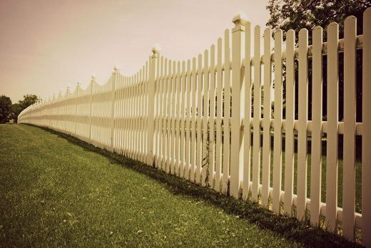 "A white picket fence is part of the American Dream because everyone wants to own there own house someday like Gorge and Leenie want there own place to ""live off the fat of the land""."
