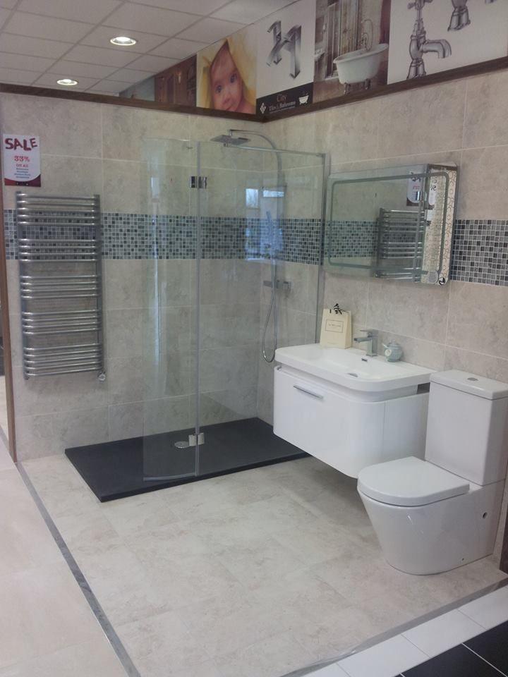 Modern wetroom