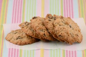 Image: Gluten Free Oatmeal Raisin Cookies - Dairy-Free and Sugar-Free