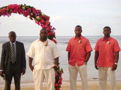 wedding attire beach for groomsmen   Groom, Groomsmen attire for beach wedding! Opinion please!   Weddings ...