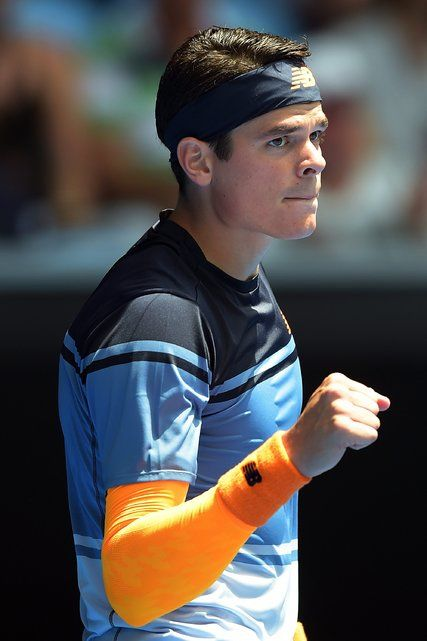 Milos Raonic Wins Match While Grieving for Victims of a Shooting...