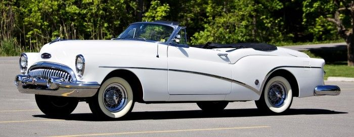 Trio of 1953 GM semi-customs, plus first year Corvette, prove to be Pebble Beach bargains