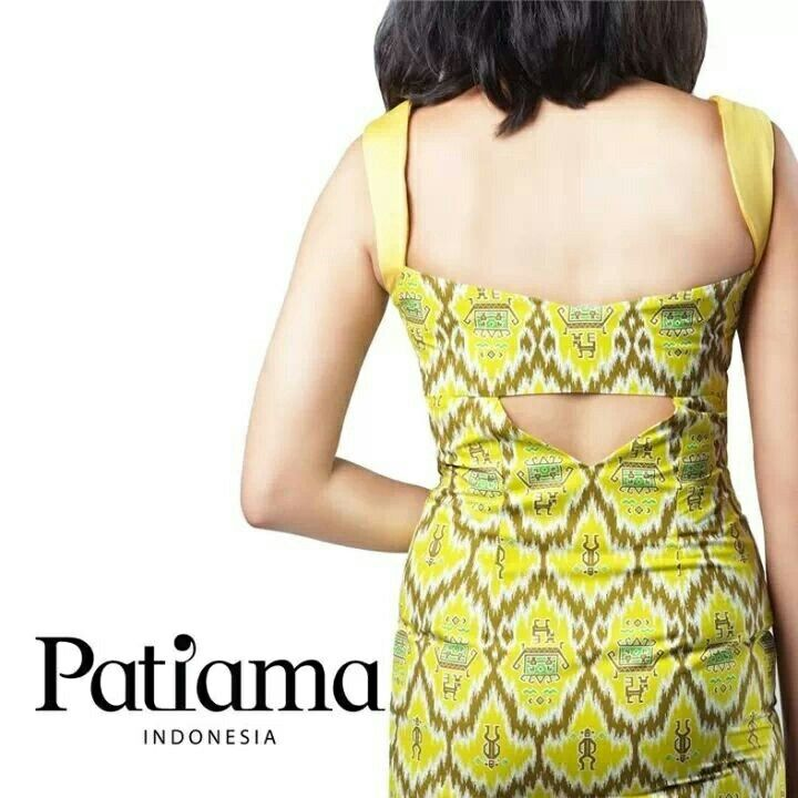 Borneo from the back side... Look sexy, elegant, and simple with Patiama Indonesia collection www.patiama.com