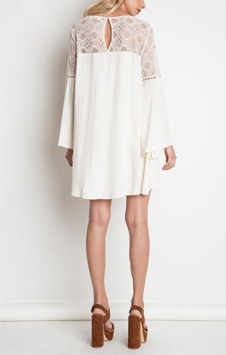 Lonely hearts edie lace dress