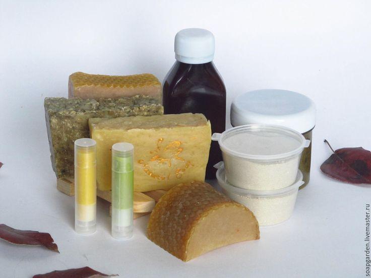 Купить Набор мыла и косметики Мелодия Трав, медовое, садовое мыло - подарочный набор мыла