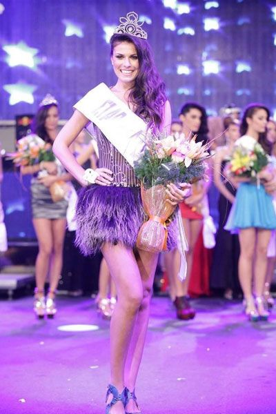 Vasiliki Tsirogianni has been crowned Star Hellas 2012 at the Dream City. She has been selected as Miss Universe Greece 2012