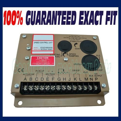 [Visit to Buy] ESD5500E Speed Controller For Diesel Alternator Generator Parts Accessory #Advertisement