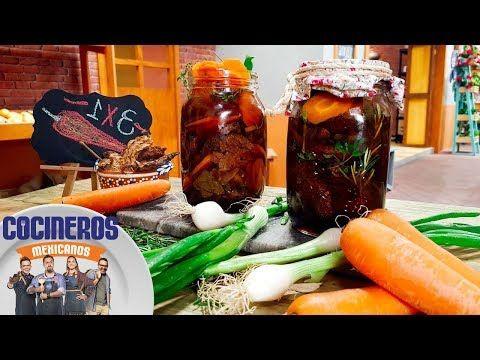 Receta: Chipotles encurtidos | Cocineros Mexicanos - YouTube