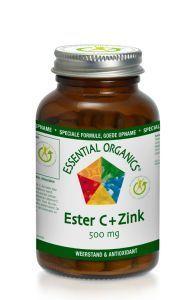 Description: Ester C vitamine is een nieuwe generatie C die gemakkelijk door het lichaam wordt opgenomen. Daarnaast ondersteunt vitamine C de weerstand. Voedingssupplement met vitamine mineralen en bioflavonoïde Samenstelling Samenstelling per dagdosering (1 tablet) %ADH Vitamine C (totaal)1 2 500 mg 627% Ascorbyl palmitaat 115 mg  Calcium (als ascorbaat) 28 mg 4% Magnesium (als ascorbaat) 17 mg 5% Zink (als ascorbaat) 27 mg 272% Quercetine 50 mg  ADH = Aanbevolen Dagelijkse Hoeveelheid…