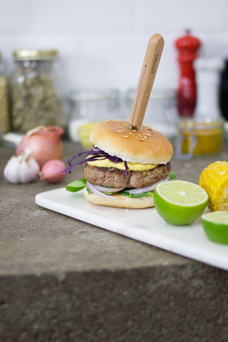 burger agnello e sesamo