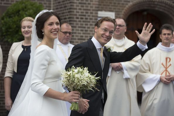 The Wedding of  Prince Jaime de Bourbon Parme and Viktoria Cservenyak
