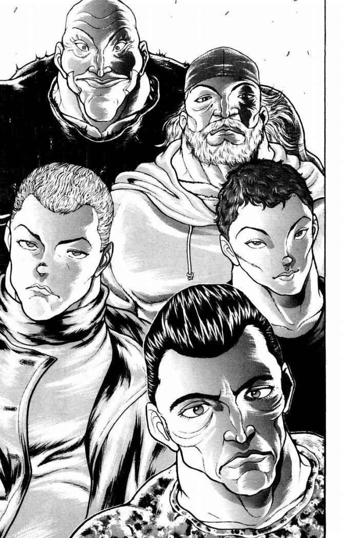 Speck, Dorian, Hector Doyle, Sikorsky & Yanagi - Baki: New
