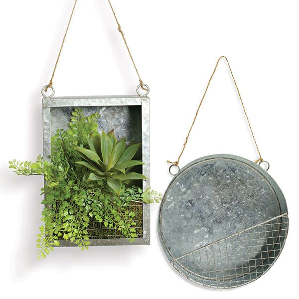Wall Hanging Planter best 25+ metal wall planters ideas only on pinterest | outdoor