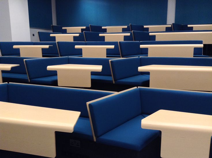Cluster theatre seating, City University