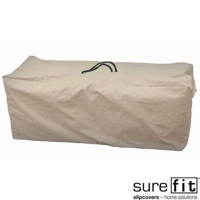 Nice Sure Fit Patio Cushion Storage Bag (Taupe (Brown)), Patio Furniture