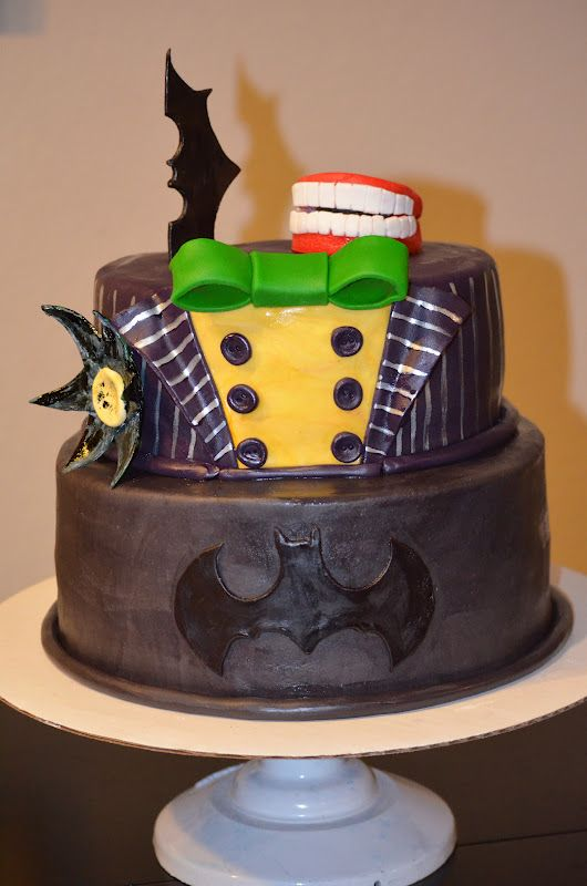 Batman and Joker Cakes | Batman & Joker Cake