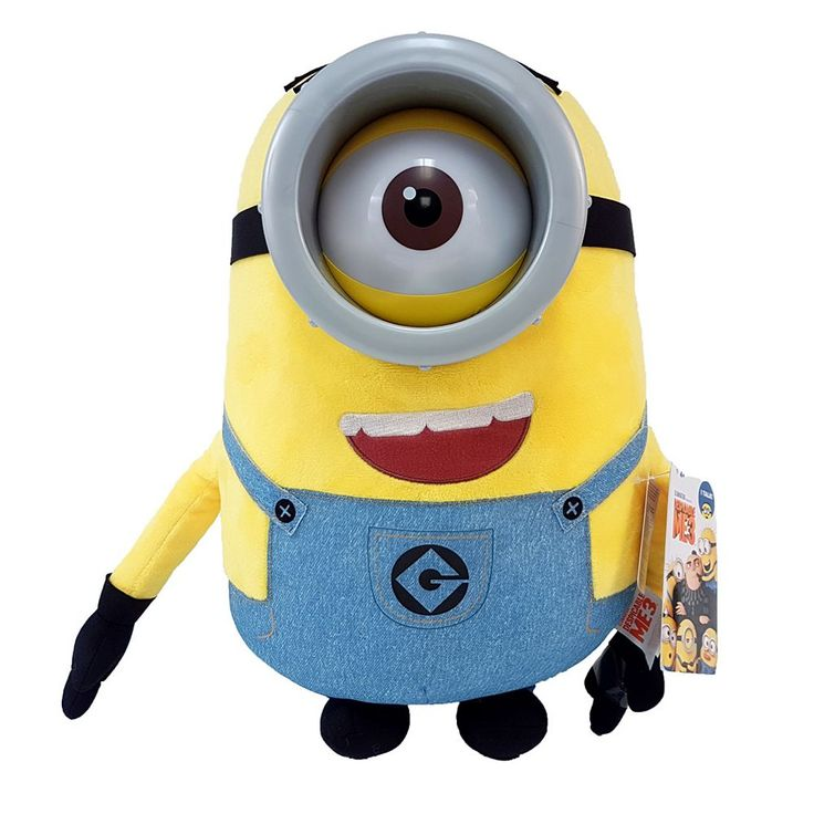 Despicable Me 3 Minions Stuart Plush, Multicolor