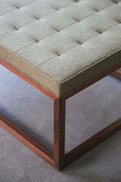 Best 25 Upholstered Ottoman Coffee Table Ideas On Pinterest Upholstered Footstool Antique