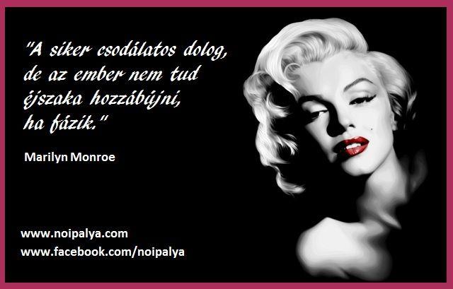 Monroe a sikerről