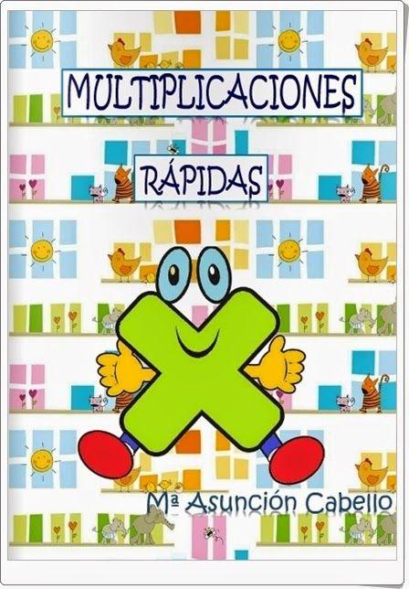 Cuaderno de ejercicios de multiplicación