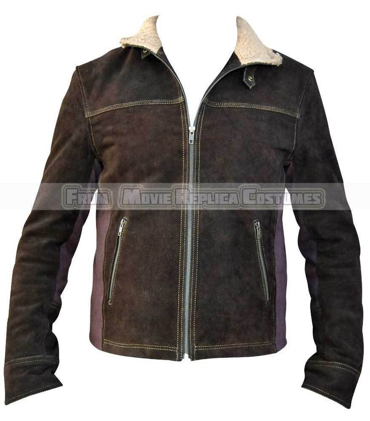 New Walking Dead Rick Grimes Costume Walking Dead Suede Leather Jacket Walking Dead Rick Costume Jacket. Jacket worn by Rick Grimes( Andrew Lincoln). Off White Collar Fur Same as Orignal Costume. 100 % Genuine Top Quality Suede Leather. | eBay!