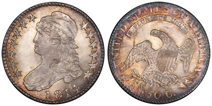 1814 Capped Bust