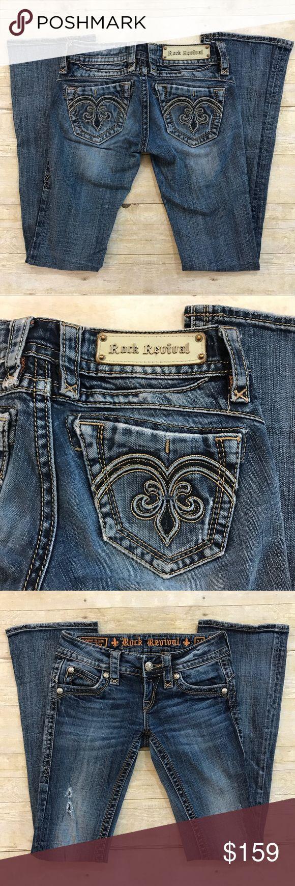 "😍Rock Revival Adele boot cut jeans Rock revival Adele boot cut jeans. Inseam about 32"". Size 24. Rock Revival Jeans Boot Cut"