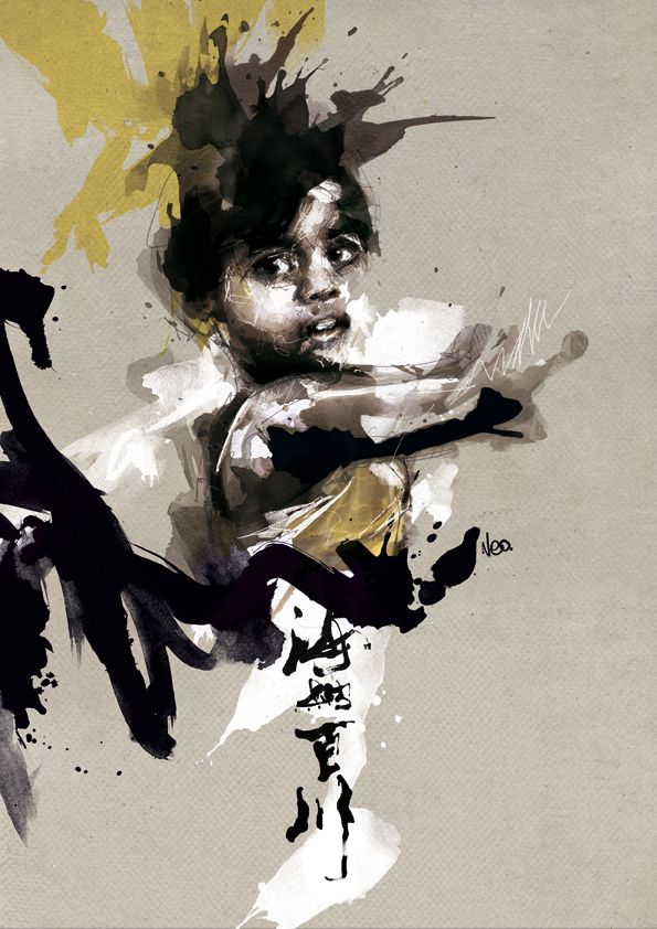 illustrations 2010 by Florian NICOLLE, via Behance