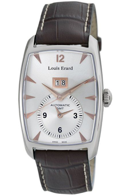 SPECIAL OFFER!  Louis Erard Men's 82210AA01.BDC52 1931 GMT Automatic Watch You can save 78% ($2,860.01) on this beautiful watch! #louiserard #louiserardwatches