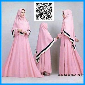 couple mom kid syar'i asmarani pink MTFJ14