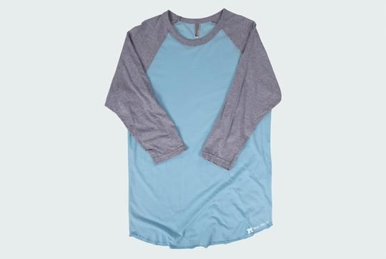 Free American Apparel BB453 Raglan Template - Comes in every color!
