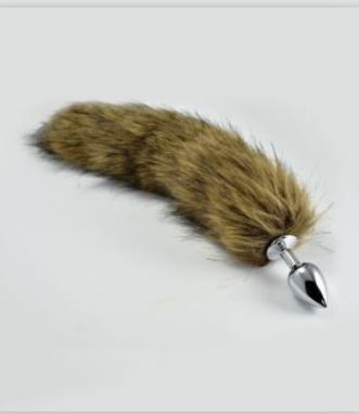 Faux Furry Tail Plug - Small